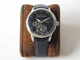AM厂艾美匠心系列方秒轮神秘时间手表对比正品评测