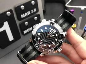 VS厂全新海马300波浪纹复刻表实拍视频