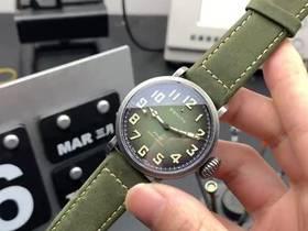 XF厂真力时复古飞行员军绿色复刻表实拍视频