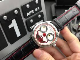 俄罗斯小丑V2升级版红色款复刻表实拍视频