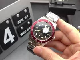ZF厂帝舵小红花79220R自动机械表实拍视频