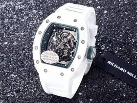KV厂理查德米尔RM055白陶瓷最强复刻版新品上市