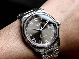 V9厂浪琴名匠系列3字位顶级复刻机械男士手表