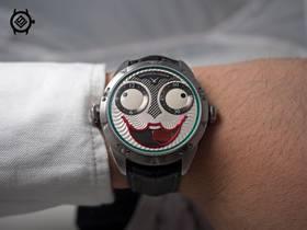 V9厂俄罗斯小丑康斯坦丁机械复刻男表新品发布