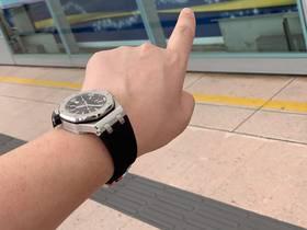香港客户JF厂爱彼AP15703复刻机械男表买家秀