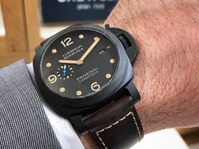 VS厂沛纳海Pam661碳纤维腕表,44mm尺寸优选