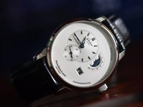 TZ厂格拉苏蒂原创偏心月相腕表一比一新款发布