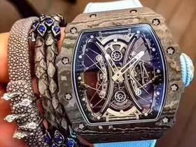 JB厂理查德米勒RM53-01陀飞轮蓝色款腕表