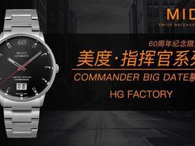 HG厂美度指挥官系列60周年限量纪念版新款复刻表