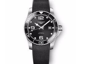 ZF厂浪琴康卡斯潜水系列41mm胶带款新品发布