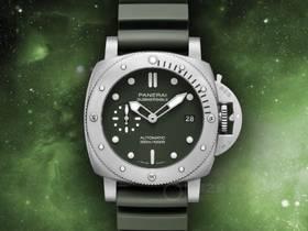 VS厂沛纳海Pam1055潜行系列军绿色腕表