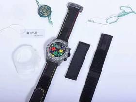JH厂DIW改装劳力士碳纤维迪通拿男士复刻腕表