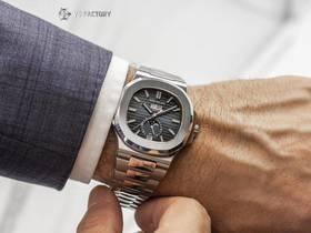 V9厂百达翡丽运动系列鹦鹉螺5726年历月相腕表