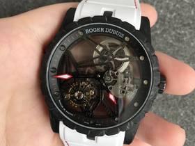 BBR厂罗杰杜彼王者DBEX0577碳纤维陀飞轮腕表