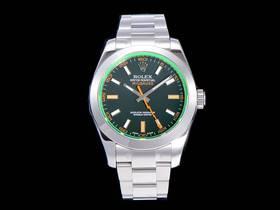 AR厂劳力士格磁型116400闪电针3131机芯绿玻璃腕表
