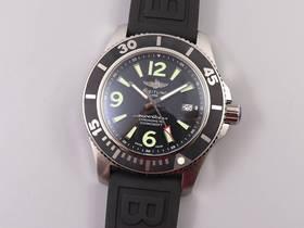 TF厂百年灵超级海洋,适合夏天运动风搭配腕表