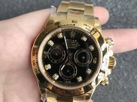 N厂4130迪通拿金色钻刻度复刻表,N厂手表最新力作!