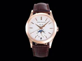 GR厂百达翡丽5396R,复刻年历月相正装腕表