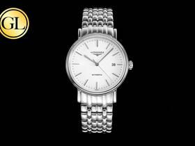 GL厂浪琴瑰丽时尚系列,最新官网40mm复刻表