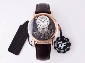 ZF厂宝玑传世系列7097逆跳秒针复刻腕表评测